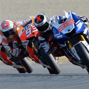 Grande Prêmio do Japão de Motovelocidade em ação