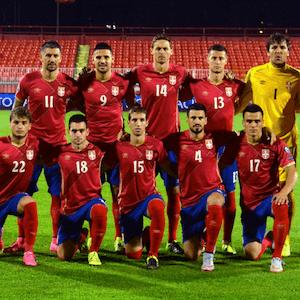 A equipe da Sérvia está pronta para enfrentar o Brasil