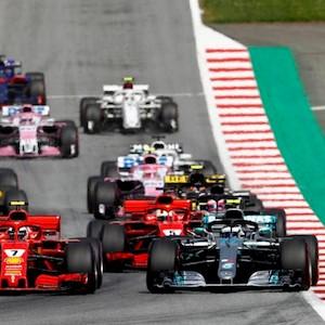 Grande Prêmio da Áustria em ação