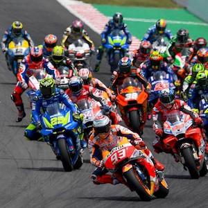A MotoGP em ação em San Marino