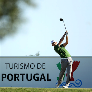 Golfista no Portugal Masters